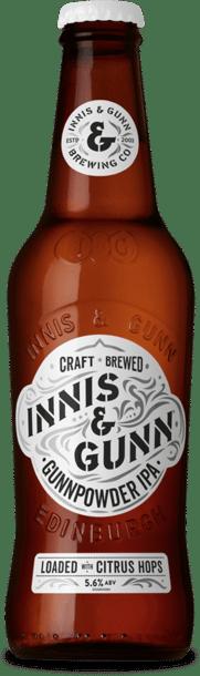 Innis & Gunn Gunnpowder IPA 5,6% Vol. 24 x 33 cl EW Flasche
