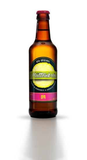 Hüttenbräu IPA 4,8% Vol. 24 x 33 cl EW Flasche