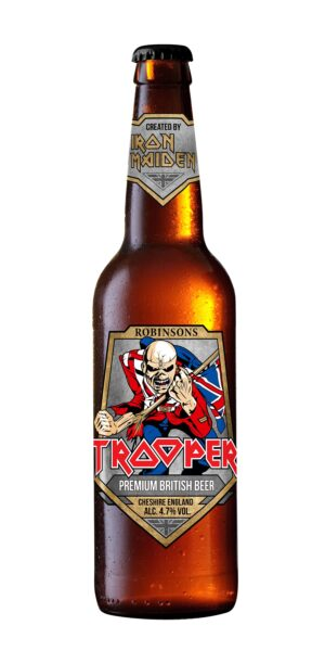 Robinsons Brewery Iron Maiden Trooper 4,7% Vol. 8 x 50 cl EW Flasche England
