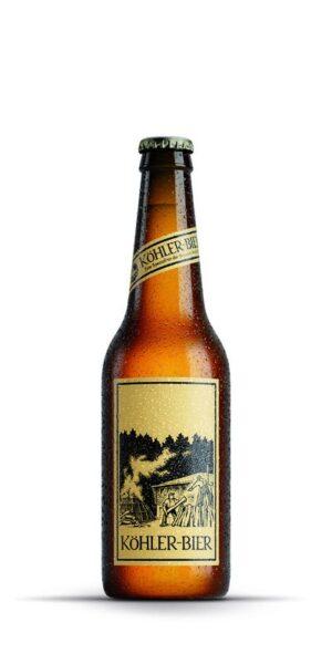 Appenzeller Amber Köhler-Bier - Brauerei Karbach 4,8% Vol. 24 x 33 cl MW Flasche