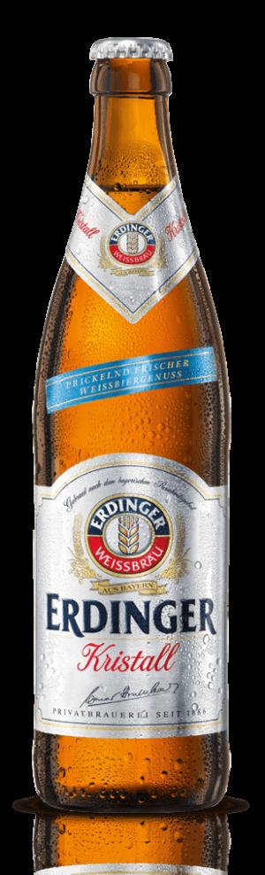 Erdinger Weissbier Kristallklar 5,3% Vol. 20 x 50 cl MW Flasche