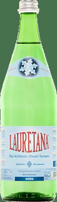 Lauretana Mineralwasser ohne Kohlensäure 12 x 100 cl MW Flasche