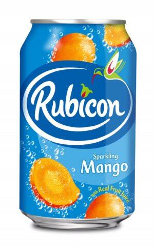 Rubicon Sparkling Mango Juice 24 x 33 cl Dose