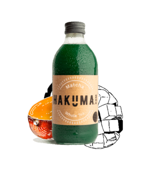 HAKUMA  Matcha Whole Tea 12 x 33 cl