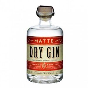 Matte Dry Gin 42% Vol. 50 cl Schweiz