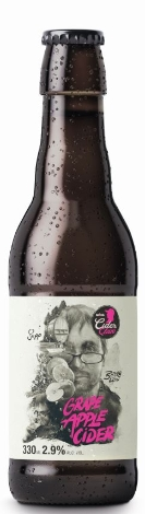 Möhl Grape Apple Cider Bitter Light 2,9% Vol. 24 x 33 cl EW Flasche