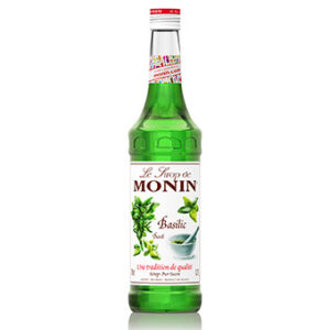 Basilikum Monin Sirup alkoholfrei 70 cl