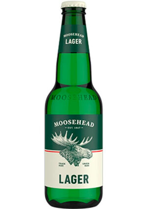 Moosehead Lager 5% Vol. 24 x 35 cl EW Flasche Canadian