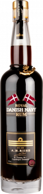 A.H. Riise XO Danish Navy Rum 40% Vol. 70 cl