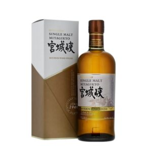 Nikka Miyagikyo Single Malt Whisky Bourbon Wood Finish 46% Vol. 70 cl Japan ( 2 bis 5 Tage Lieferfrist möglich )