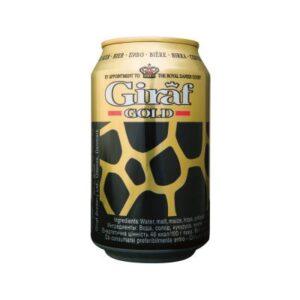 Giraf Gold 5,6% Vol. 24 x 33 cl Dose Dänemark