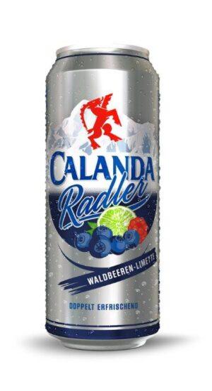 Calanda Radler Waldbeeren - Limette 2,0% Vol. 24 x 50 cl Dose