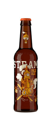 Steamworks Pale Ale 5,2% Vol. 24 x 33 cl EW Flasche Kanada
