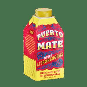 Puerto Mate ( Mate-Zitronengras Eistee ) 24 x 50 cl Tetra (3x8er)