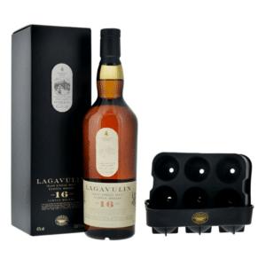Lagavulin Whisky 16 Years Single Malt 43% Vol. 70 cl mit Eiswürfelform