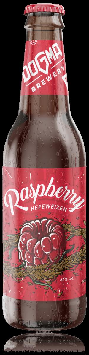 Dogma Raspberry Hefeweizen 4,5% Vol. 24 x 33 cl EW Flasche Serbien