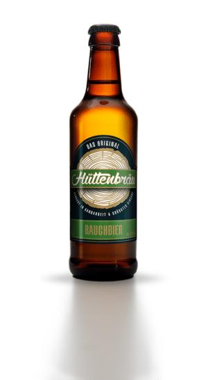 Hüttenbräu Rauchbier 4,8% Vol. 24 x 33 cl EW Flasche