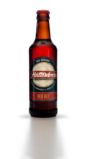 Hüttenbräu Red Ale 4,8% Vol. 24 x 33 cl EW Flasche