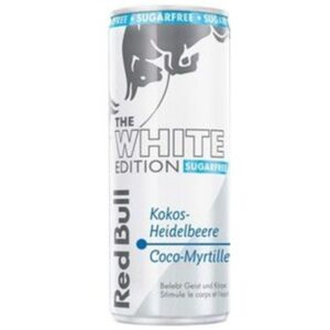 Red Bull white Zero Edition Kokos-Blaubeeren 24 x 25 cl Dose