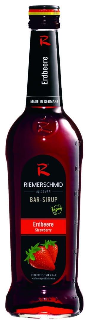 Riemerschmid Sirup Strawberry / Erdbeer Barsyrup 70 cl