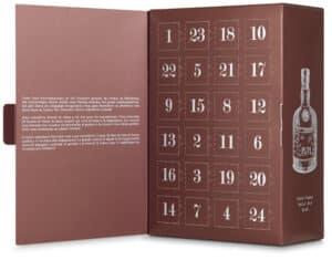 Rum Adventskalender 35.0 bis 43,0% Vol. 24 x 2 cl