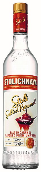 Vodka Stolichnaya Salted Karamel 40% Vol. 70 cl Lettlands
