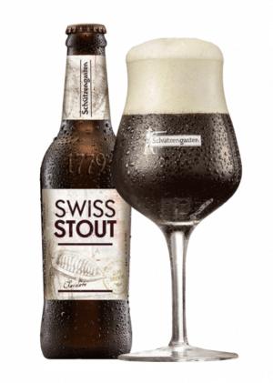 Schützengarten Swiss Stout 5,7% Vol. 33 cl EW Flasche