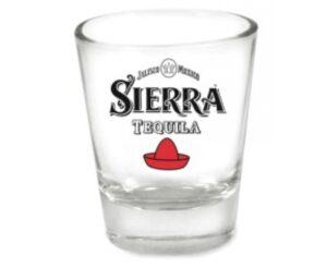 Sierra Tequila Shotglas mit je 2 cl