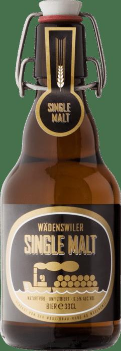 Wädenswiler Single - Malt 5,1% Vol.  20 x 33 cl MW Bügelflasche (nur November - März erhältlich)