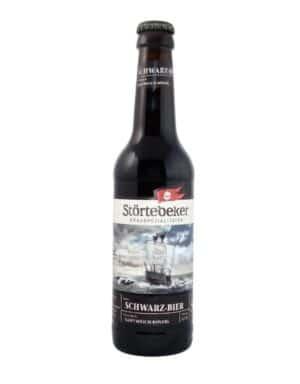 Störtebeker Schwarz Bier 5% Vol. 20 x 50 cl MW Flasche