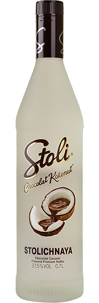 Vodka Stolichnaya Chocolat Kokonut 40% Vol. 70 cl Lettlands