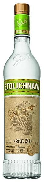 Vodka Stolichnaya Glutenfree 40% Vol. 70 cl Lettlands