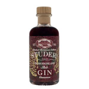 "STUDER's Swiss Highland Sloe Gin ""Cinnamon"" 26.6% Vol.  20 cl"