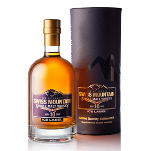 Swiss Mountain Whisky Ice Label 55,7% Vol. 50 cl Jahrgang 2019 Schweiz