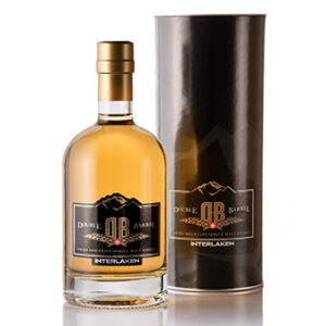 Swiss Mountain Double Barrel Whisky 43% Vol. 50 cl Schweiz