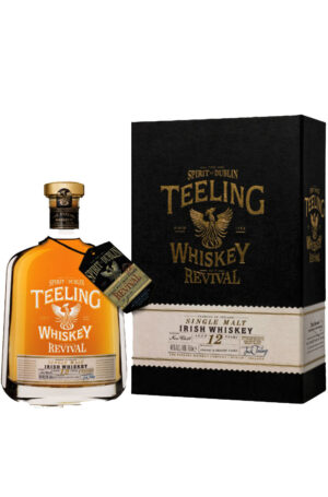 "Whiskey Teeling 12 years old Revival V ""Cognac & Bourbon Cask"" 46% Vol. 70 cl Irland"