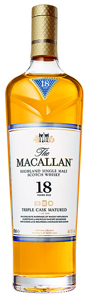 The Macallan 18 Year Old Triple Cask Matured 43% Vol. 70 cl