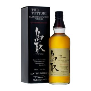 The Tottori Blended Bourbon Barrel Whisky 43% Vol. 70 cl Japan