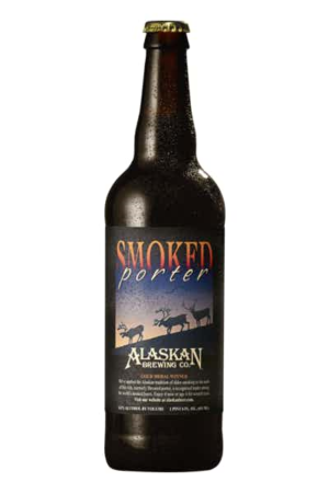 Alaskan Brewing Smoked Porter 6,5% Vol. 65 cl EW Flasche Alaska / Amerika