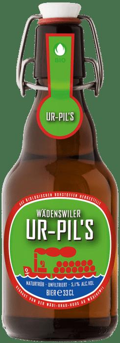 Wädenswiler Ur - Pils`s 5,1% Vol.  20 x 33 cl MW Bügelflasche