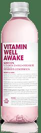 Vitamin Well Awake mit Himbeergeschmack 12 x 50 cl PET