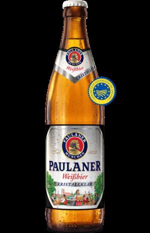 Paulaner Weissbier Kristallklar 5,2% Vol. 20 x 50 cl MW Flasche