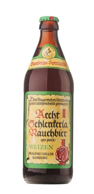 Aecht Schlenkerla Rauchbier - Weizen 5,2% Vol. 20 x 50 cl EW Flasche