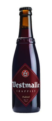 Westmalle Dubbel Dunkel 7% Vol. 24 x 33 cl MW Flasche Belgien
