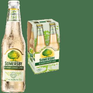 Somersby Elderflower Lime 4,5% Vol. 24 x 33 cl EW Flasche
