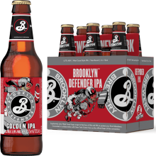 Brooklyn Defender IPA 6,5% Vol. 24 x 33 cl Amerika