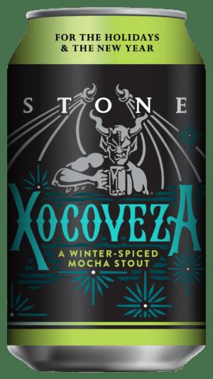 Stone Xocoveza schwarzes Starkbier 8,1% Vol. 6 x 33 cl Dose ( Berlin )