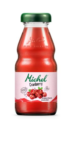 Michel Cranberry 24 x 20 cl EW Glas