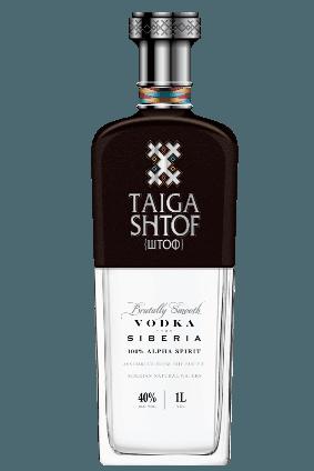 Vodka Taiga Shtof 40% 70cl Sibirien / Russland