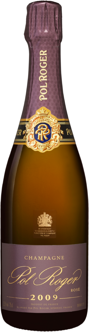 Pol Roger, Rosé Vintage Brut, 12.5 % Vol. 75cl, 2009